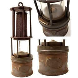 German Clanny-Style Safety Lamp
