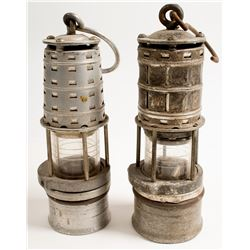 Miners Safety Lamps