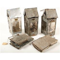 Five Stonebridge Folding Lamps