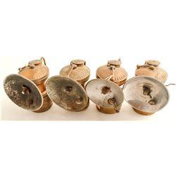 Auto-Lite Carbide Lamps (4)