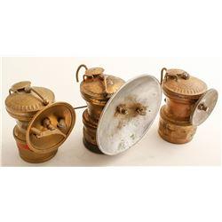 Auto-Lite Carbide Lamps (3)