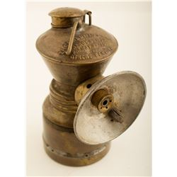 Baldwin Carbide Lamp w/ Small Reflector