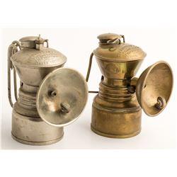 Two Nice Baldwin Carbide Lamps