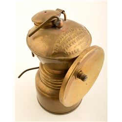 Early Baldwin Carbide Lamp
