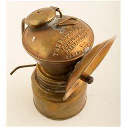 Third Early Baldwin Carbide Lamp