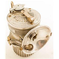 Fred R. Belt Carbide Lamp