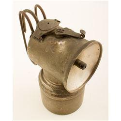 Unique, Early Justrite Carbide Lamp
