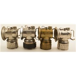 Four Possible Justrite Lamps