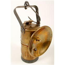 Probable Justrite Large Carbide Lamp