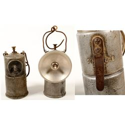 Two Pinnacle Carbide Lamps (Australia)