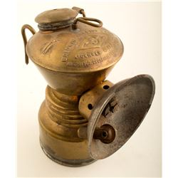 Second Early Simmons Carbide Lamp