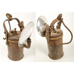 Early & Large Wolf Carbide Lamp