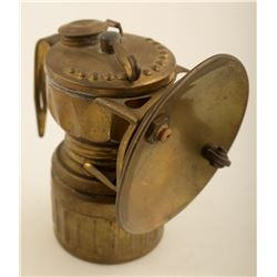X-Ray Brass Carbide Lamp