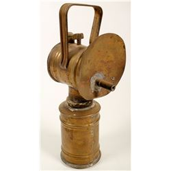 Early Manufacture Carbide Lamp