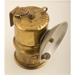 Unusual Unmarked Carbide Lamp