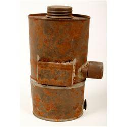 Unusual Carbide Flask