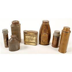 Carbide Flasks Collection
