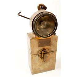 Pioneer Brass Electric Light