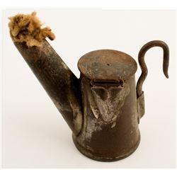 George Anton Globe Oil Wick Lamp