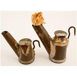 C. L. Anton Liberty Oil Wick Lamps