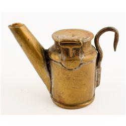 Possible Anton Oil Wick Lamp