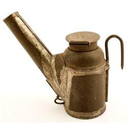 Choke Crown Oil Wick Lamp