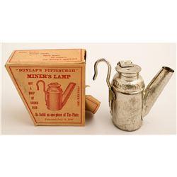 Dunlap Oil Wick Lamp in Box