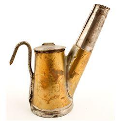 Grier Bros Brass Oil Wick Lamp