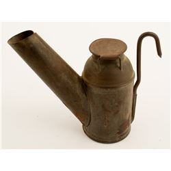 Grier, Dubois, PA Oil Wick Lamp
