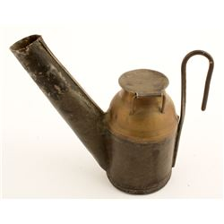 Hunt and Connel Oil Wick Lamp
