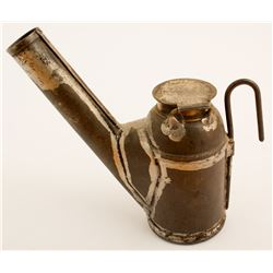 C. B. Potter Oil Wick Lamp