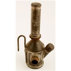 Unusual Trethaway Bros Oil Wick Lamp