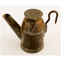 1 Unmarked Oil Wick Lamp