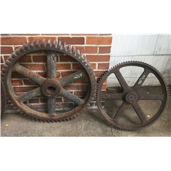 Cambridge Mine Cog Wheels
