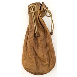 19th Century Gold Poke Bag