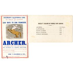 Gold Rush Shipping Cover: Archer