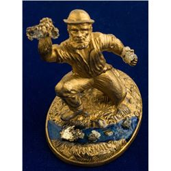 John Marshall Gold Discovery Statue with 16 to 1 Mine Gold