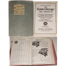 Hendrie & Bolthoff Mfg. and Supply Co. Catalog No. 48