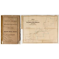 Report of The Chatham Cobalt Mining Co. (J.C. Booth and Dr. E. Francfort) (Cobalt & Nickel) w map
