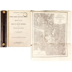 Preliminary Report of the United States Geological Survey of Montana (Hayden, 1872)