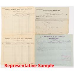 Goldfield / Tonopah Mining & Assay Ephemera Collection