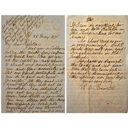 William Ralston, Bank of California Letters (3): Brereton Letter, Investors in London All Lined Up