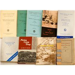 9 Nevada Mining Books