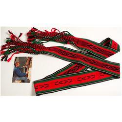 Ceremonial Sash Belt by Willie Sitzwiisah Coin