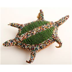 Beaded Turtle Toy from Duckwater Area