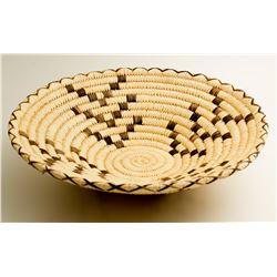 Tohono O'Odham Coyote Tracks Basket