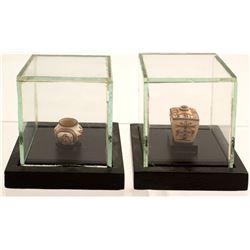 Two Miniature Pots--Thomas Natseway