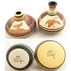 Two Pots by Dine Artist, Elmay