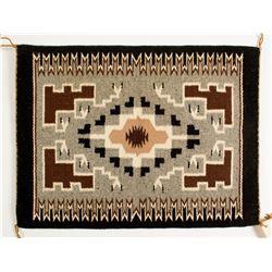 Storm Pattern Weaving, Nancy Begay