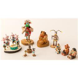 Group of Mini Kachinas